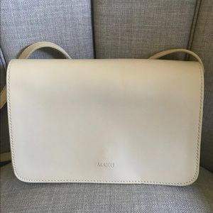 Many Beige Crossbody Bag